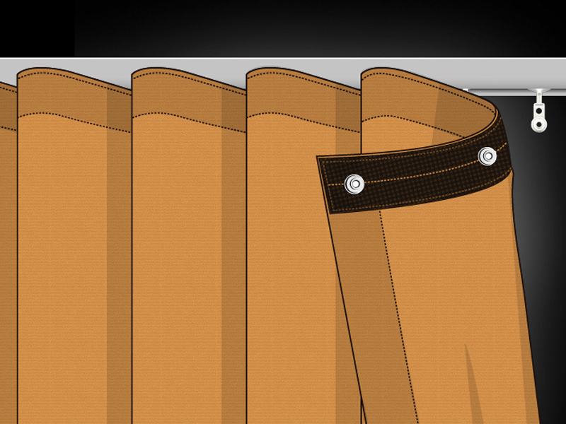 Ripplefold Curtain