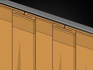 Box Pleats example