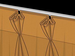 Pinch Pleats example