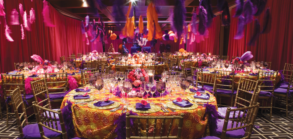 Evento Pipe and Drape example