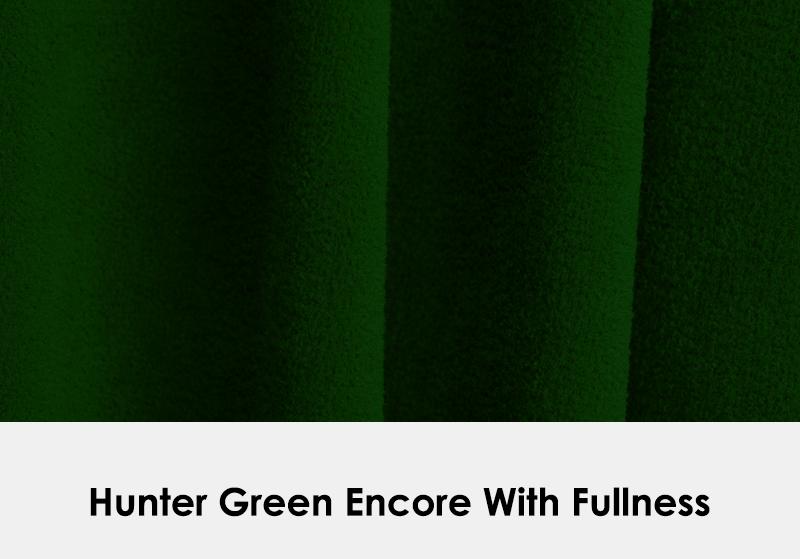 Encore Hunter Green with Fullness