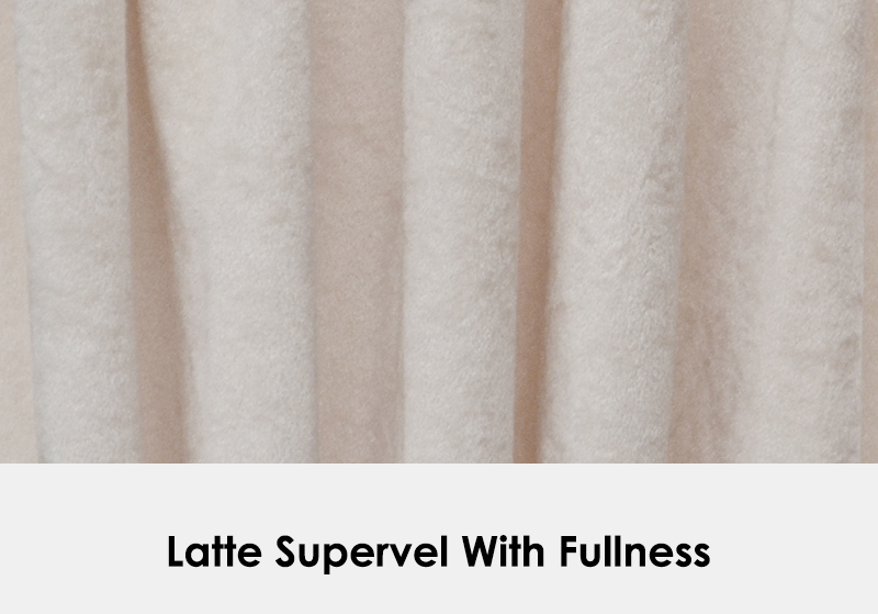 Latte Supervel with Fullness