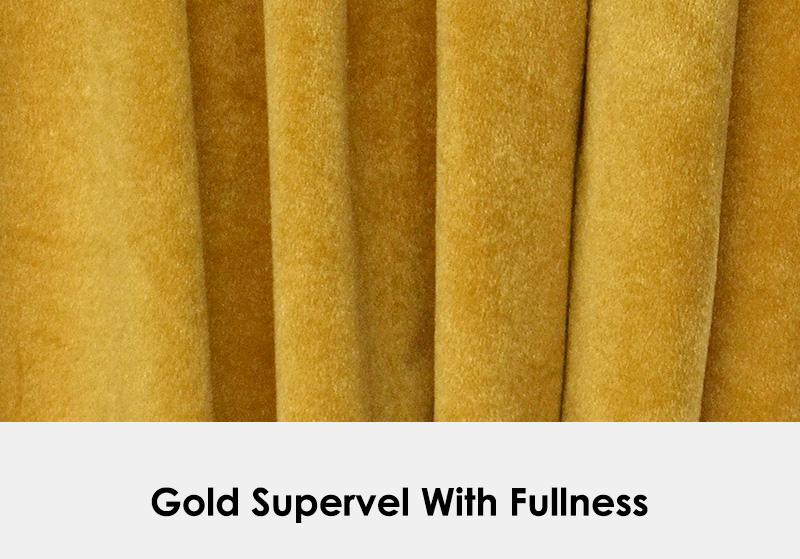 Gold Supervel with Fullness