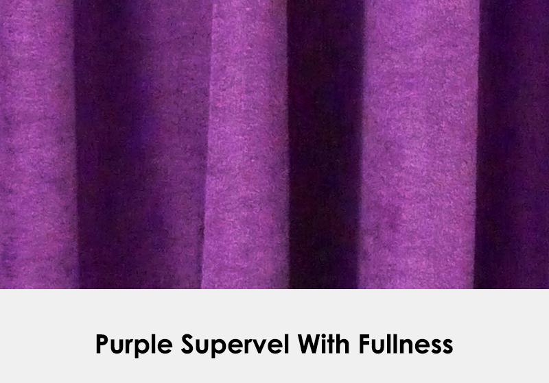 Purple Supervel with Fullness
