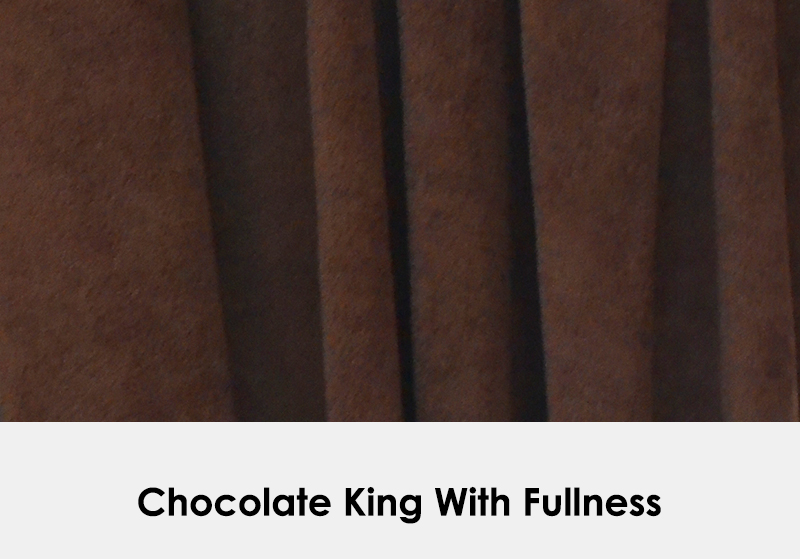 King Chocolate with Fullness