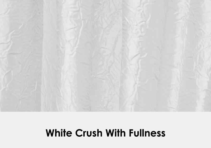 Crush White with Fullness