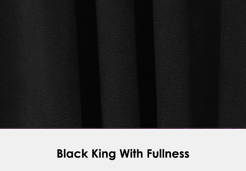 King Black with Fullness