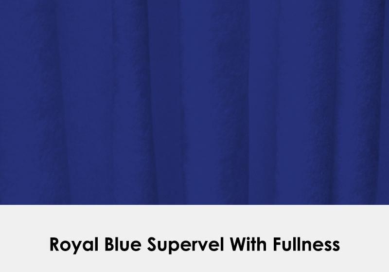 Supervel Royal Blue with Fullness