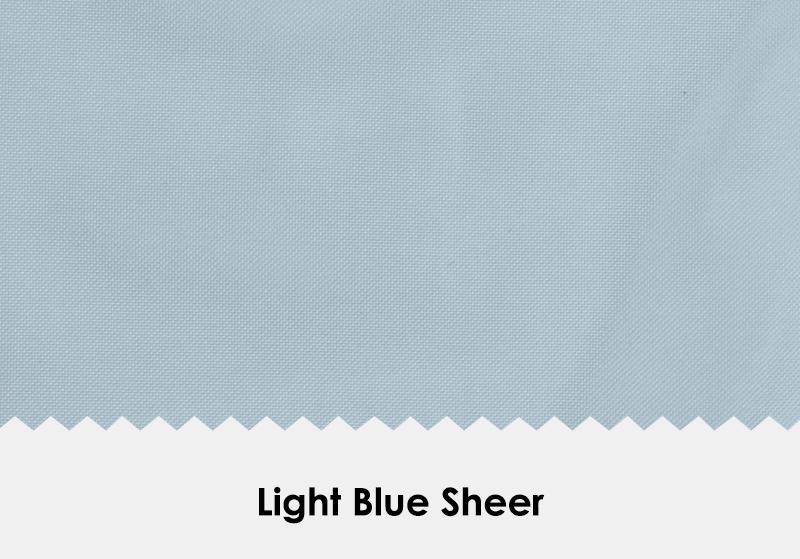 Sheer Light Blue