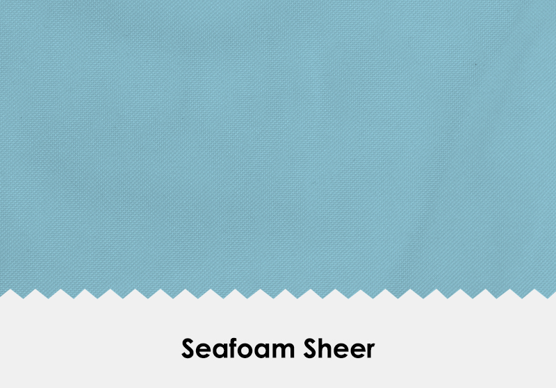 Sheer Seafoam
