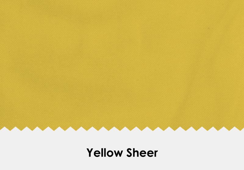 Sheer Yellow