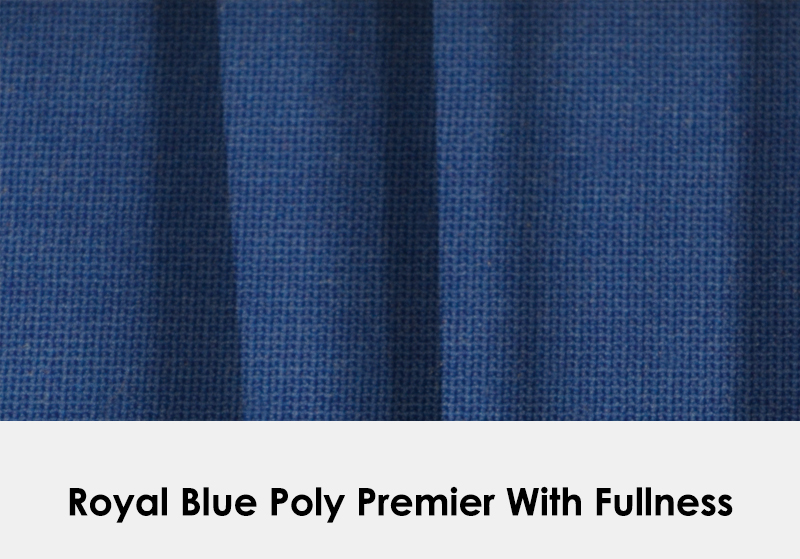 Poly Royal Blue with Fullness