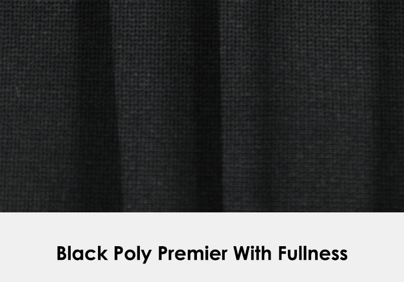 Poly Black with Fullness