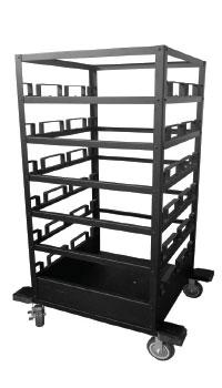 Stanchion cart